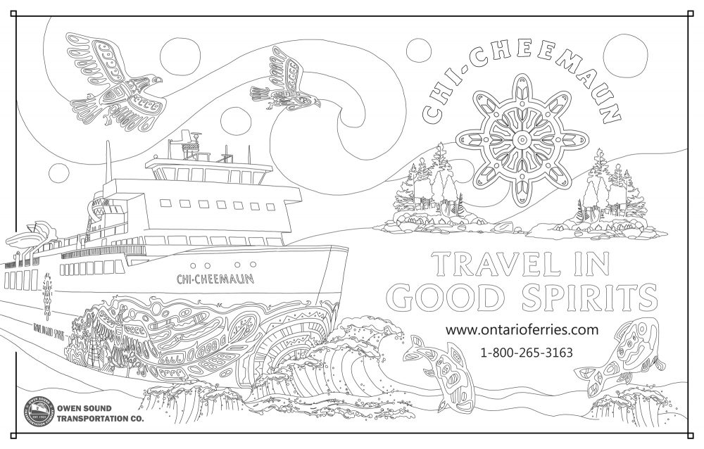 This year\'s book will feature custom colouring page ads – Whytes