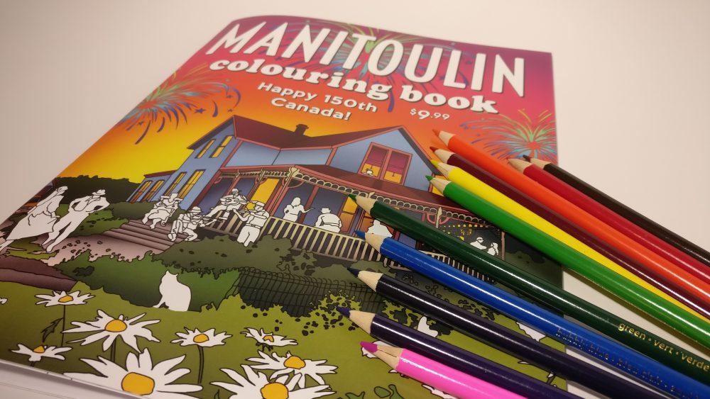 manitoulin coloring book signing publishing sheguiandah canada