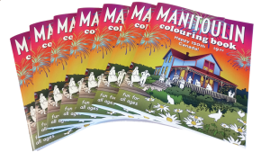 manitouling coloring book kids canada ontario publishing